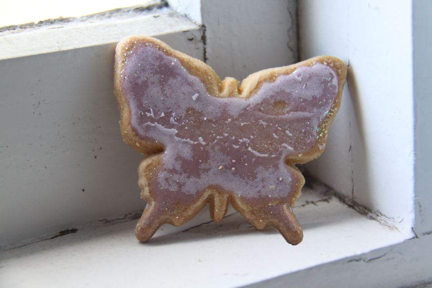 butterfly biscuit